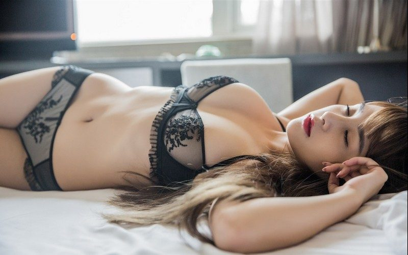 Pretty girl in sexy lingerie